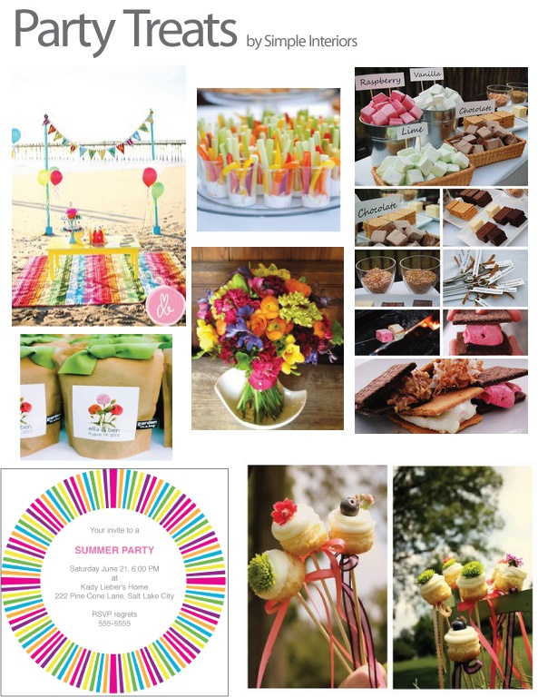 summer party or baby shower baby ideas pinterest