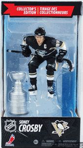 Фигурка NHL Hockey Canadian Boxed Exclusive Series: Sidney Crosby with Stanley Cup/Сидни Кросби