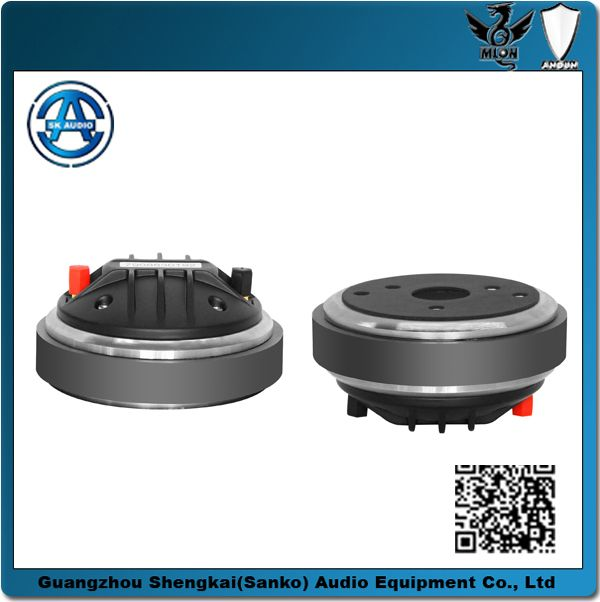 """b&c tweeter, hifi driver, high frequency speaker driver, compression driver  """"Throat Diameter: 35.4 mm   Frequency Range: 800-18000Hz Rated Impedance:8Ω   Voice Coil Diameter:44 mm Voice Coil Material:CCAR Power  Capacity:60W   Sensitivity (1w/1m):110 dB Magnetic Dimension::120*50*20mm                        G.W:2.33kg                           Packing size::120*120*71mm/1PCS"""""""