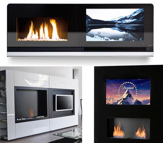 23 best images about entertainment fireplace wall on for Denatured ethanol fireplace