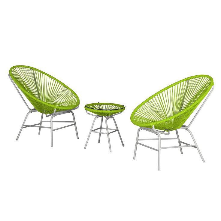 Fresh Sitzgruppe Copacabana I teilig Kunststoff Gr n Wei Fredriks Jetzt bestellen unter
