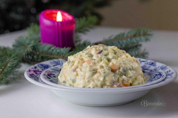 Zemiakový šalát s majonézou