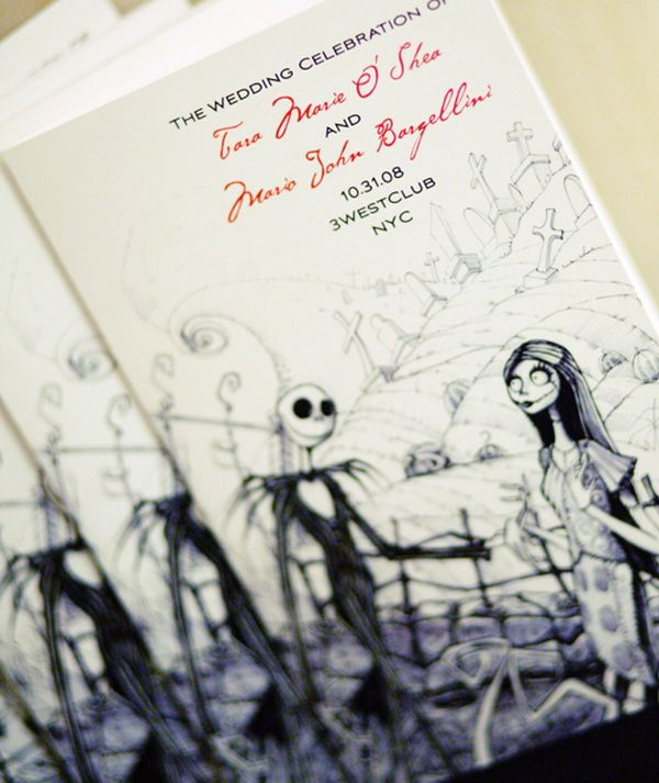 halloween wedding invitations | Halloween Inspired Wedding Invitations for Autumn Weddings | VPonsale ...