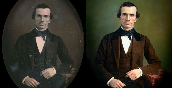 Designer Restores Likely Oliver Cowdery Photograph - Church News and Events