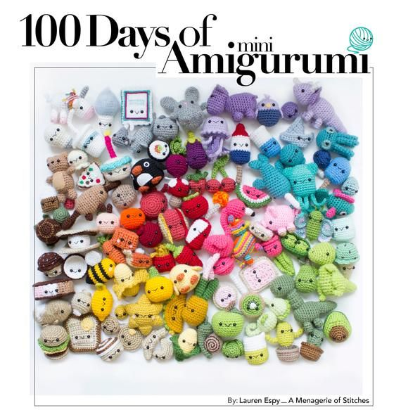 Crochet Ebook 100 Days Of Mini Amigurumi Volume 1 Pdf Amigurumi