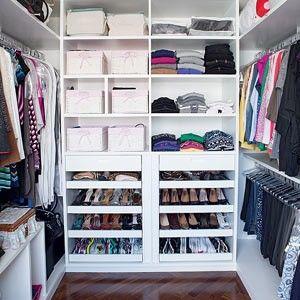 5 passos para o closet dos sonhos