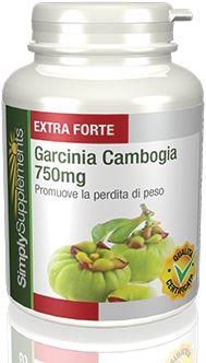 La Garcinia Cambogia Pura aiuta a frenare l'appetito e può essere un buon alleato nella perdita di peso. Capsule facili da deglutire.