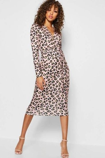 5e28dc46ab44 Pale pink leopard dress and accessories for that end of winter and  beginning of spring look. #leftcoaststylesf #pinkleopard #springlook # ShopStyle # ...