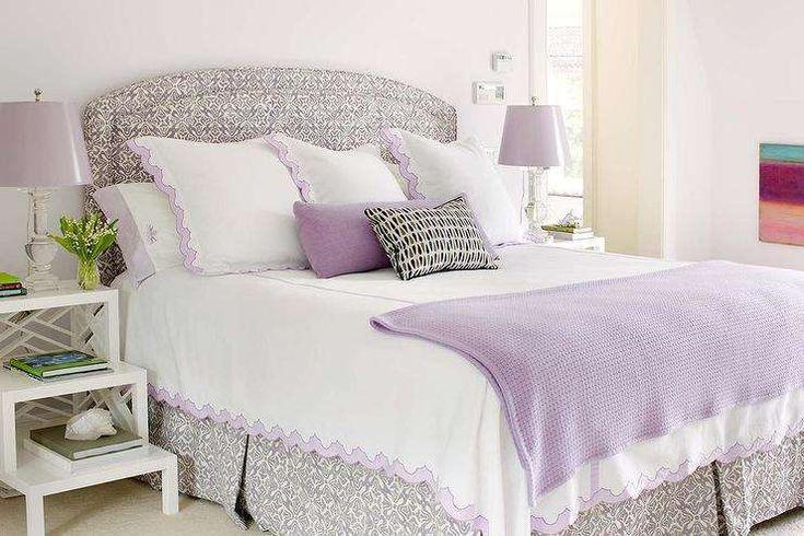 Idee per arredare la camera da letto con il color lavanda - Camera da letto in stile cuntry