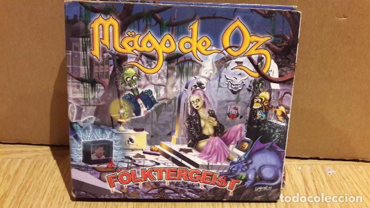 MAGO DE OZ / FOLKTERGEIST / DIGIPACK - 2 CDS ( SIN LIBRETOS / CON MARCAS DE USO.