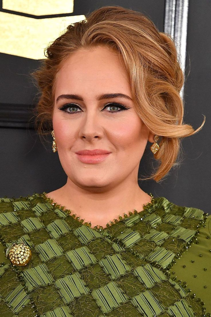 We're taking pictures of Adele's Grammy Award-winning hair to our colourist...
