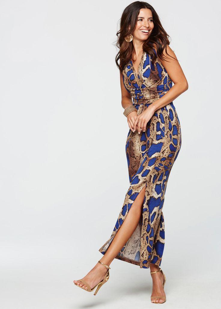 Vestido de festa estampa de leopardo azul encomendar agora na loja on-line bonprix.com.br  R$ 149,90 a partir de Arrase! E seja exclusiva em qualquer festa! ...