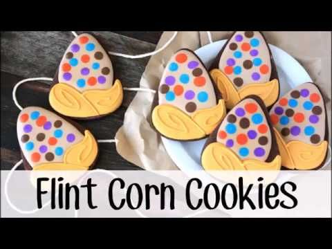 How to Make Decorated Flint Corn Cookies | LilaLoa: How to Make Decorated Flint Corn Cookies
