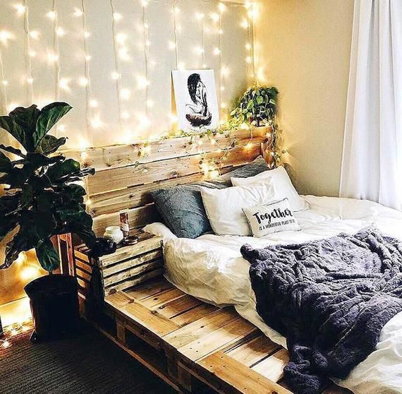 Pallet Bed The Oversized Queen Includes Headboard And Platform