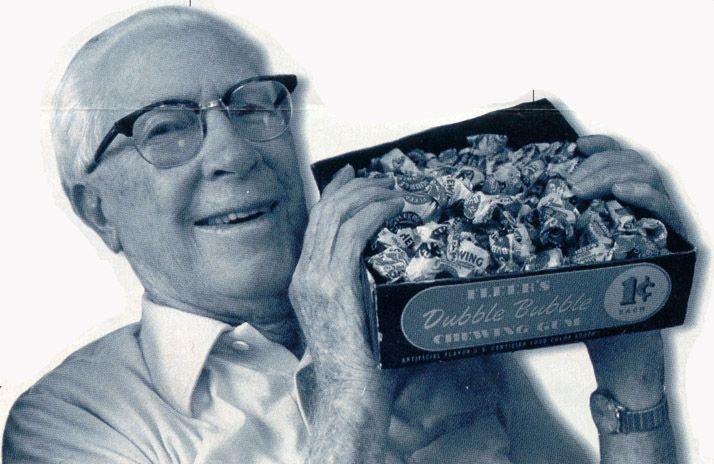 Frank Henry Fleer invented bubble gum