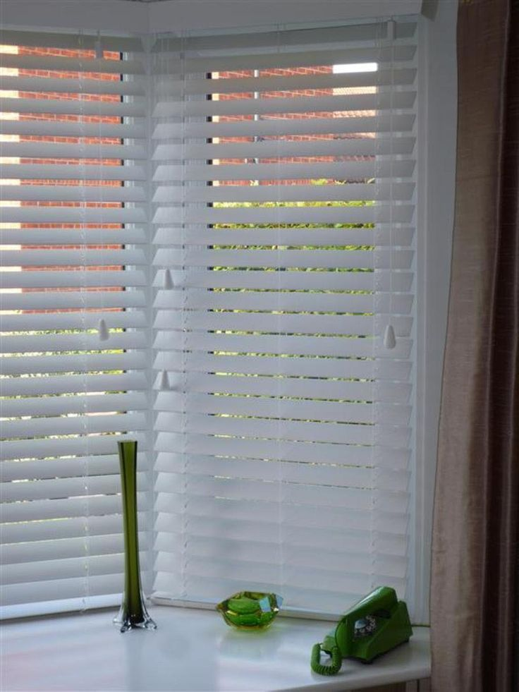 48 Best Bay Window Blinds Images On Pinterest