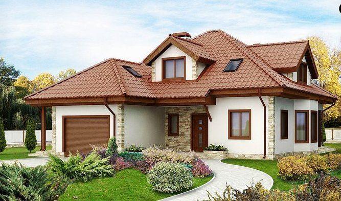 Casă de vis parter cu etaj şi garaj, ideală pentru o familie cu 3-4 membri