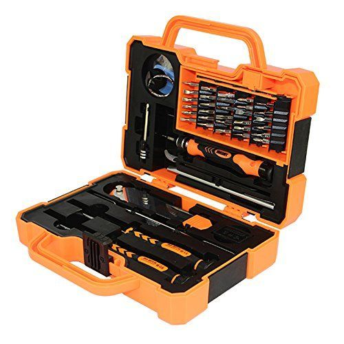 The tool pack industrial grade ABS plastic, black rubber edge, strong anti-wrestling * High-strength stainless steel forging, high toughness and difficult to break, corrosion resistance, * family routine maintenance, digital disassemble and electronics repair personnel, portable and easy * Furniture, property, gifts, DIY maintenance, equipment facilities, schools, offices, enterprises and * (Placed within the Amazon Associates program) * 16:56 Mar 9 2017