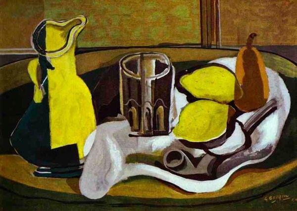 Жорж Брак, галерея картин, биография. Georges Braque