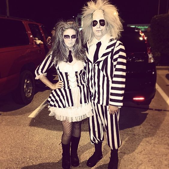 die besten 25 beetlejuice kost m ideen auf pinterest bestes halloween make up joker. Black Bedroom Furniture Sets. Home Design Ideas
