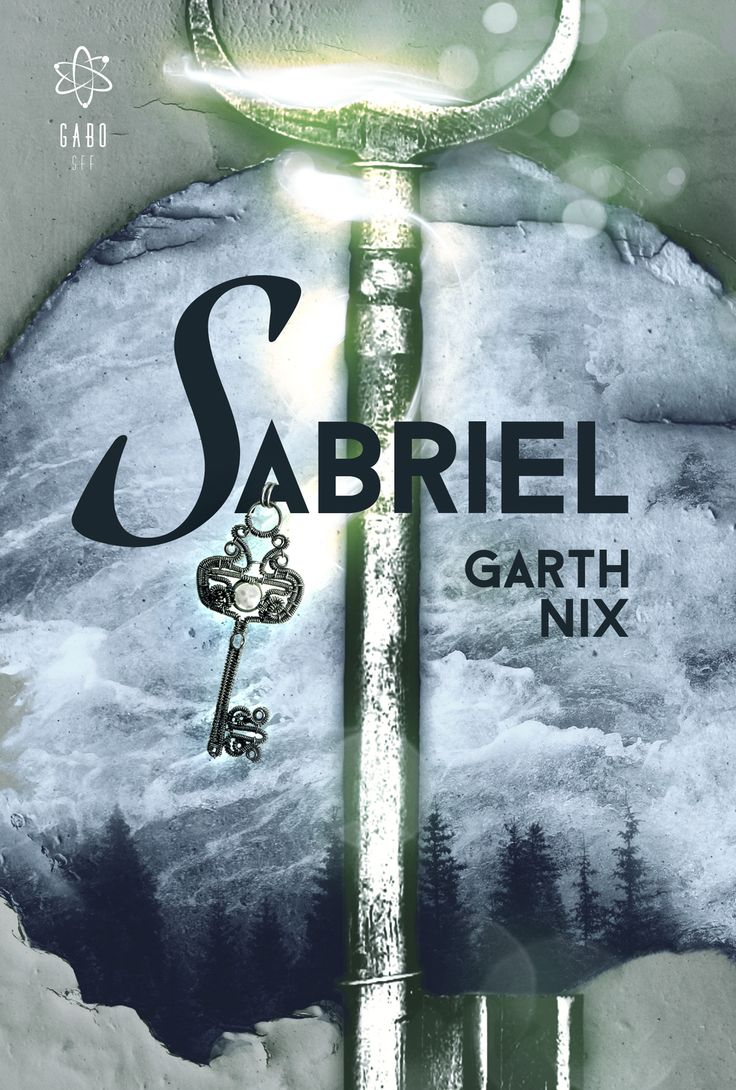 "By yours truly: the cover for the Hungarian edition of Garth Nix's ""Sabriel"", to be published soon by @gabosff , feat. a jewelry piece by @bodaszilvia ;)  (Will show you the full spread of the cover as well, soon, with a description that will list all the CC and similar resources I've used. As usual. :))"