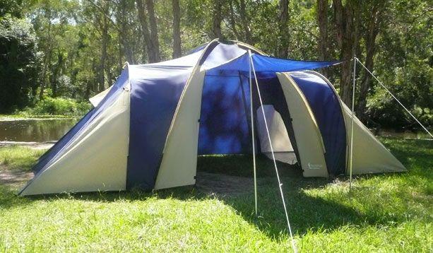 Huntsman HTPL-4215 4 man dome tent