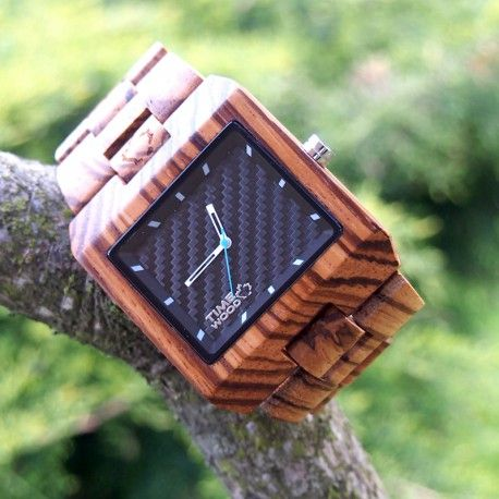 dřevěné hodinky Valdi od TimeWood