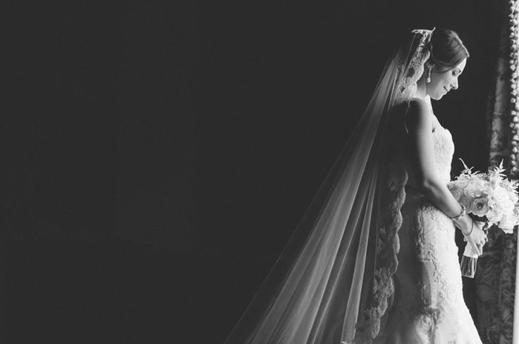 Window lit bridal portraits at The Palace at Somerset Park. Captured by Northern NJ wedding photographer Ben Lau.