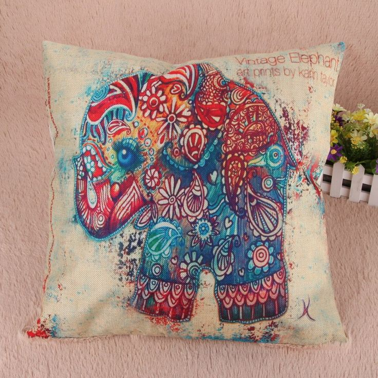 Elephant Pillow Covers (8 Styles)