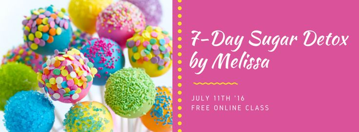 7-Day Free Sugar Detox Online Group - Melissa Lepage