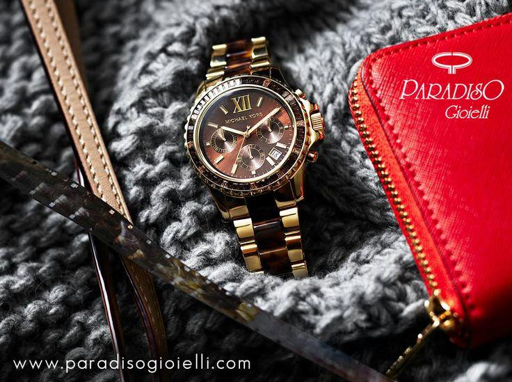 La Novità di Michael Kors : L' #Orologio #Everest dallo #stile #chic e senza tempo!!! Vi Piace???? #Watch #Gioielli #Jewels #Donna #Look