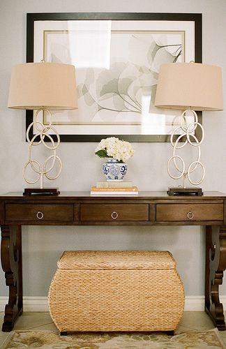 Elegant Foyer Table Lamps : Best decoração fibras naturais images on pinterest