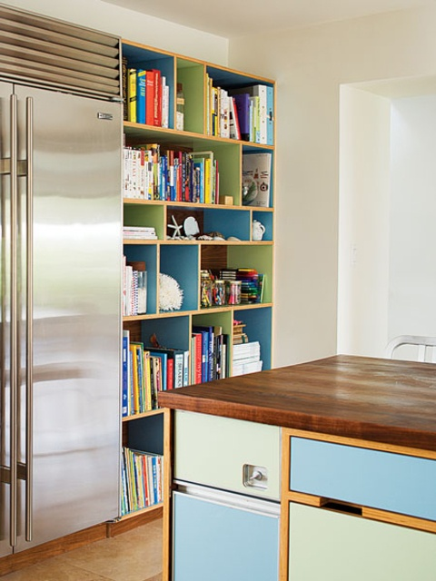need a place for all of my cookbooks until I digitize them....