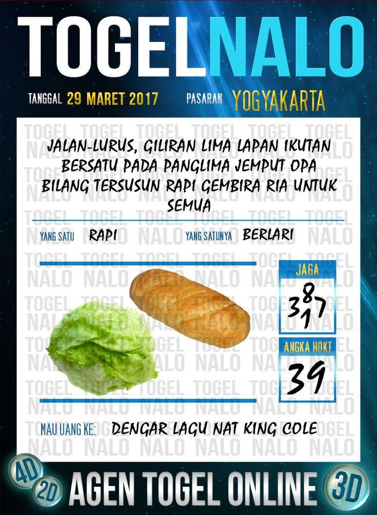 Kode Jitu 6D Togel Wap Online TogelNalo Yogyakarta 29 Maret 2017