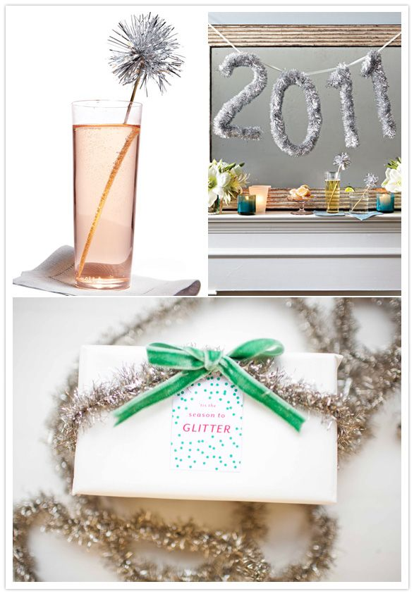 glitter: Sparkle Sticks, Decoration, Drinks Stirrers, Bedroom Decorating Ideas, Calendar Ideas, Holidays Decor Ideas Tinsel 2, Years Garlands, Glitter Ideas, Bedrooms Decor Ideas