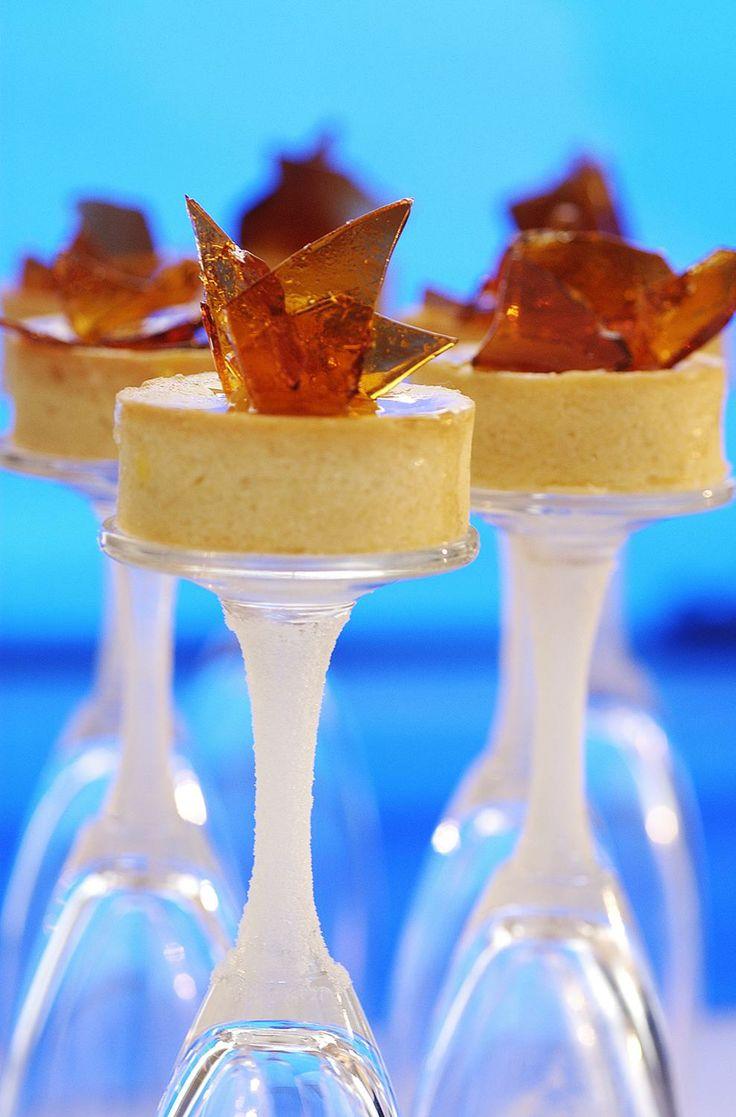 Vanilla Cheesecake, Toffee Shard