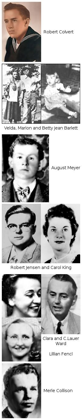 The victims of spree killers Charles Starkweather and Caril Ann Fugate.