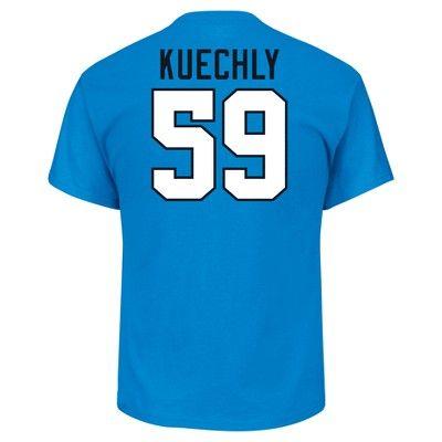 T-Shirt Carolina Panthers Team Color Xxl, Men's, Multicolored