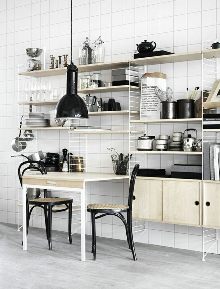 Rangez bien votre cuisine avec la table pliante