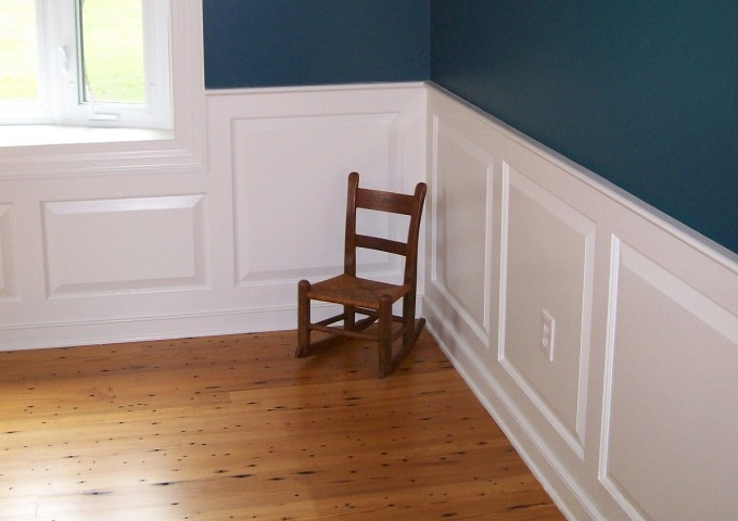 Raised Panel Wainscoting In Dining Room Wainscoting