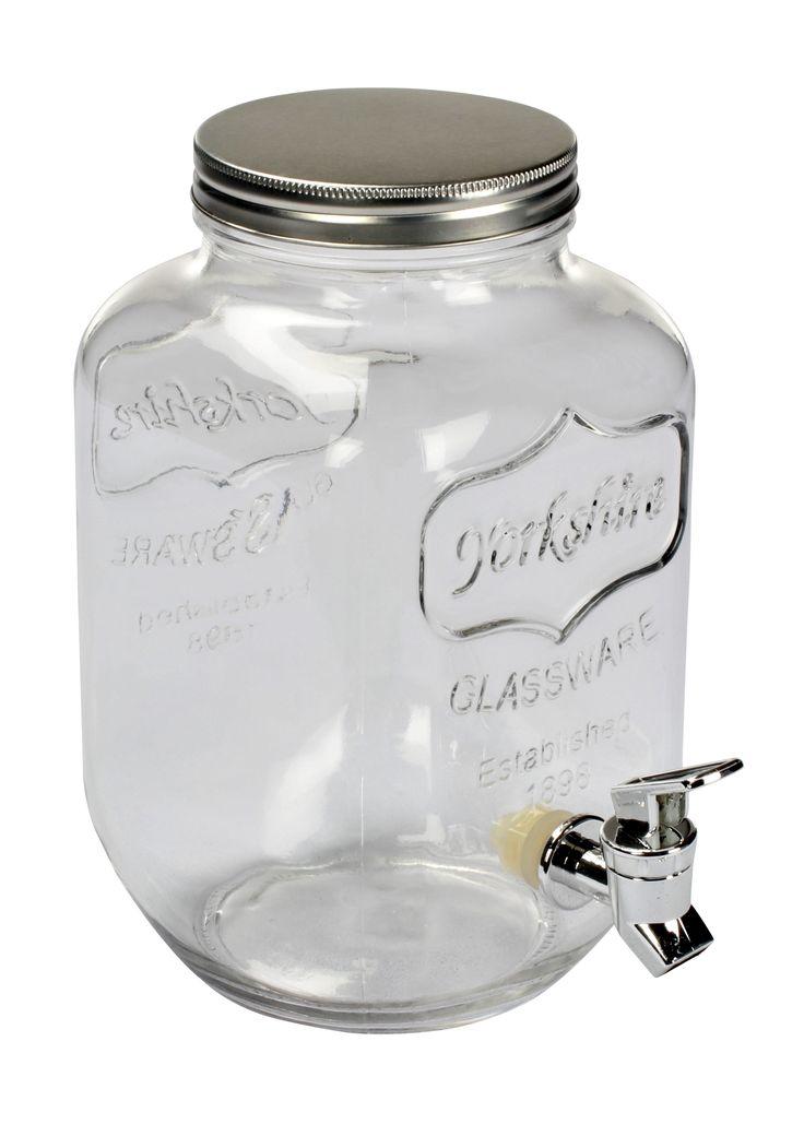 Ce distributeur de boisson en verre sera pratique pour des soirées et même dans votre vie quotidienne ! Disponible sur BUT.fr