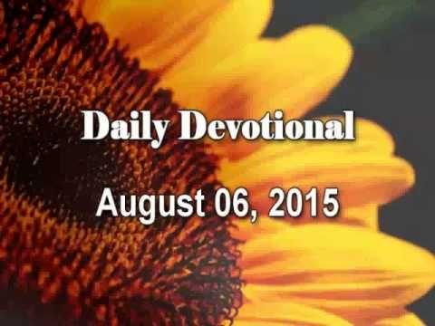 August 06, 2015 - Daily Devotional: Ephesians 2:19-22