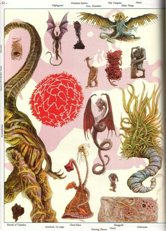 S Petersens Field Guide To Cthulhu Monsters
