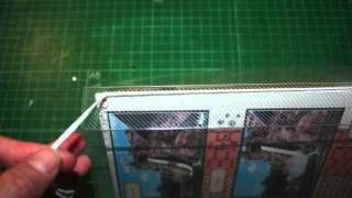 tutorial album con tapas transparentes - YouTube