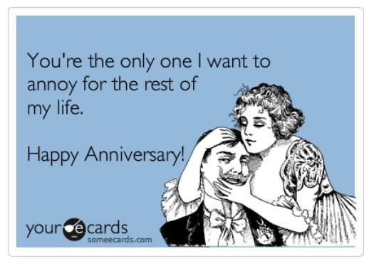 funny wedding anniversary jokes