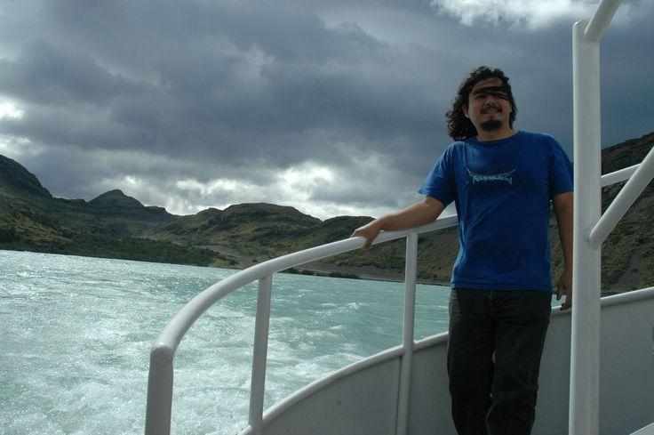 En Catamaran hacia Camping Las Torres