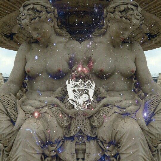 Classical statue from a fountain in budapest. Royalisle visuals   Made by Livia Schneider aka Beastling Alice