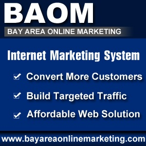 Bay Area Online Marketing helps businesses rank higher on major search engines by implementing strategic Search Engine Optimization (SEO) programs. We serve the bay area, east bay, danville, san ramon, walnut creek and the surrounding areas.  http://bayareaonlinemarketing.com/