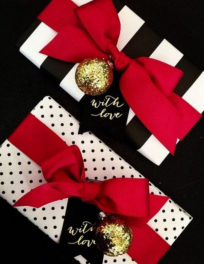 Glamorous Red Bow + Wrapping