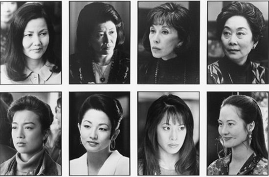 the portrayal of sexism in the joy luck club